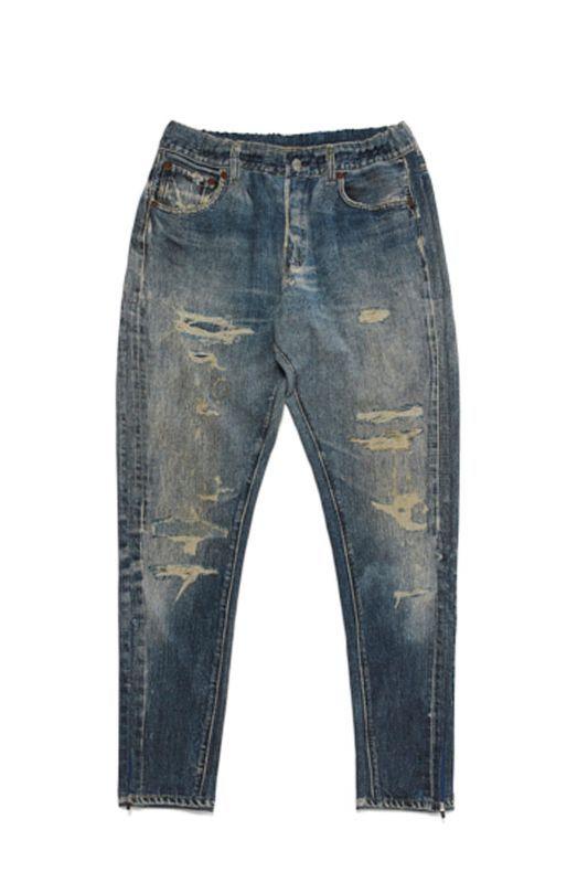 画像1: 【VOTE MAKE NEW CLOTHES】3D REPAIR DENIM PT