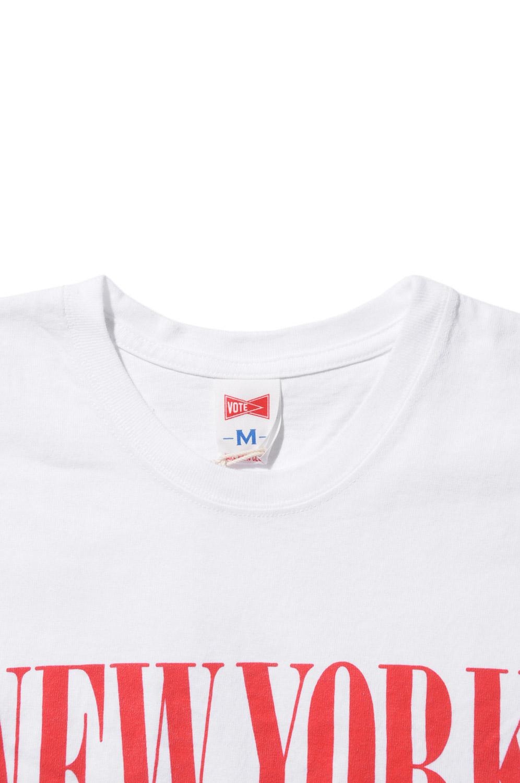 画像4: 【VOTE MAKE NEW CLOTHES】APPLE NEW YORK SOUVENIR77 TEE