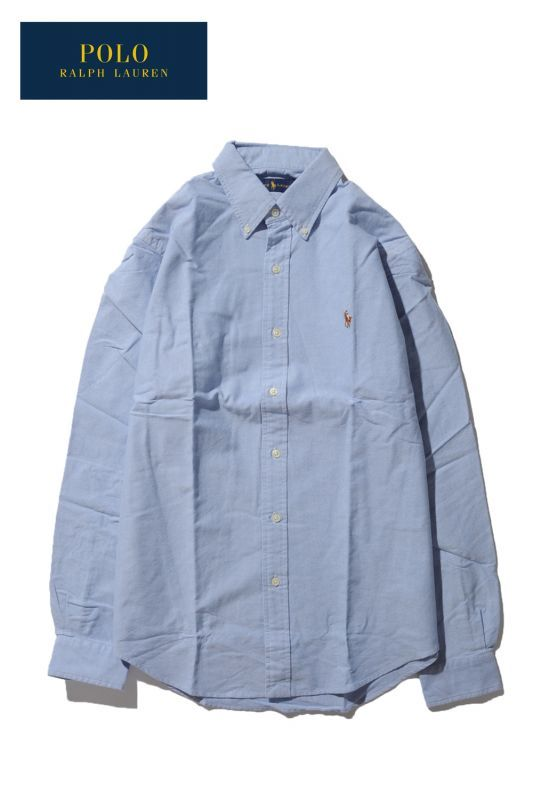画像1: 【POLO ralph lauren】OXFORD SHIRT (1)