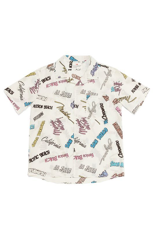 画像1: 【VOTE MAKE NEW CLOTHES】FAMOUSE BEACH S/S SHIRTS