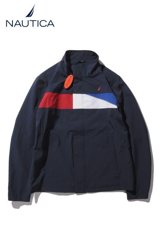 画像1: 【Nautica】 NYLON JACKET Tricolor (1)