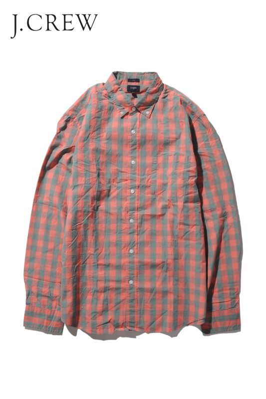 画像1: 【J.Crew】 CHECK SHIRTS SLIM (1)