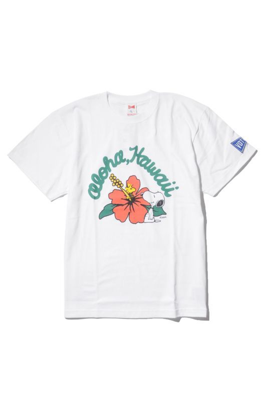 画像1: 【VOTE MAKE NEW CLOTHES】ALOHA SNOOPY TEE (1)