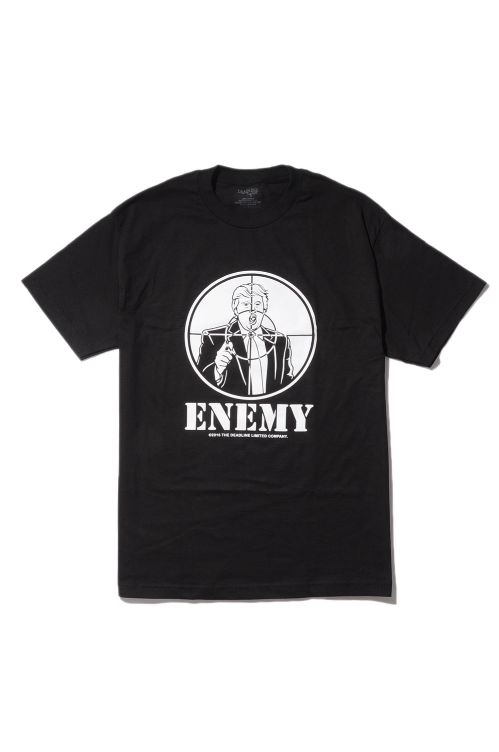 画像1: 【DEADLINE】 ENEMY TEE (1)