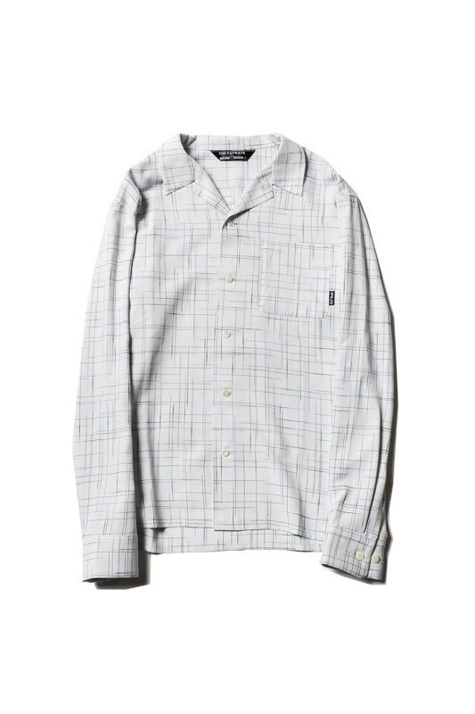画像1: 【CUTRATE】L/S SPLASHED PATTERN SHIRT (1)
