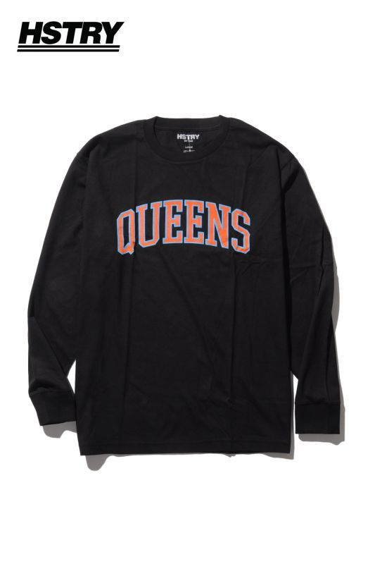 画像1: 【Hstry】 QUEENS LS TEE (1)