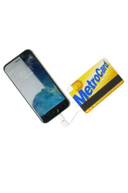 "画像1: 【INTERBREED】 MTA × INTERBREED ""Metro Card Mobile Battery"" (1)"