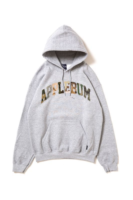 画像1: 【APPLEBUM】Camo Logo Sweat Parka (1)