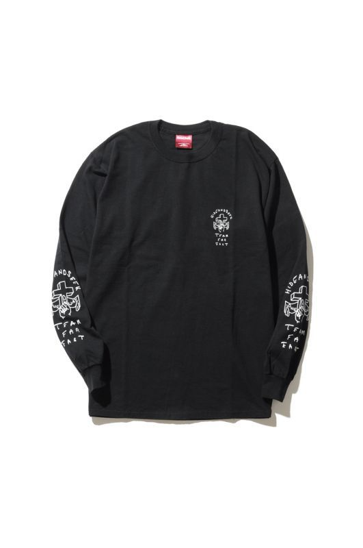 画像2: 【HIDEANDSEEK】One Way L/S Tee
