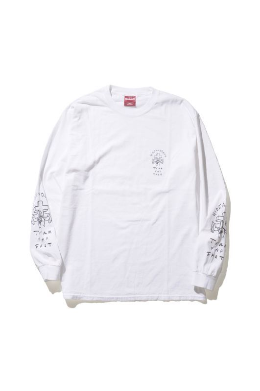 画像1: 【HIDEANDSEEK】One Way L/S Tee