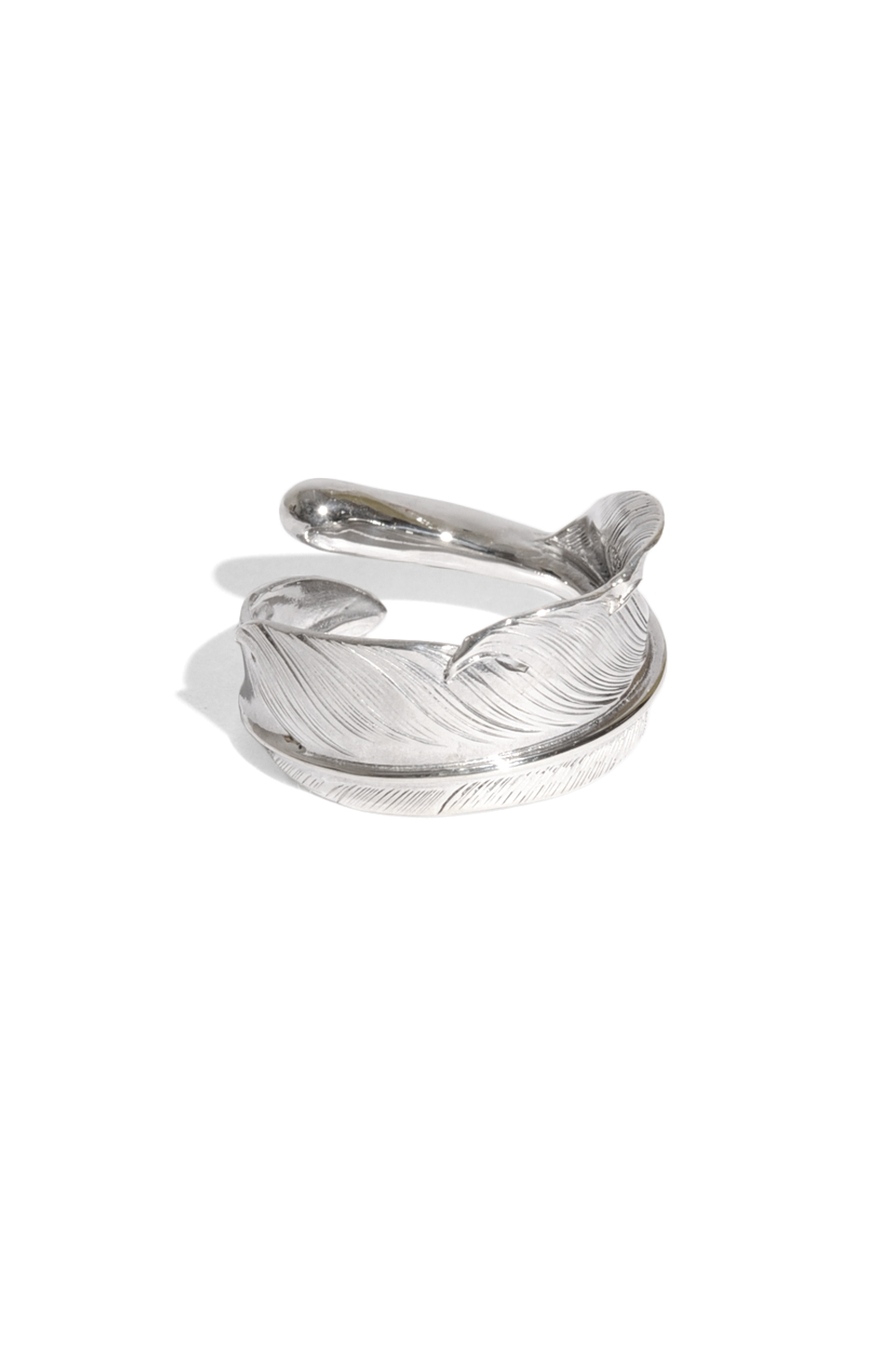 画像1: 【LARRY SMITH】 NATABANE FEATHER RING (1)