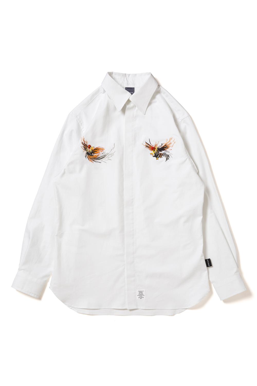 """画像1: 【APPLEBUM】""""闘鶏"""" Fly Front Shirt (1)"""