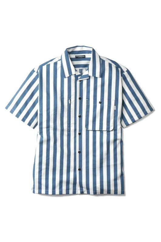 画像1: 【INTERBREED】 Patterned Pajama Shirt