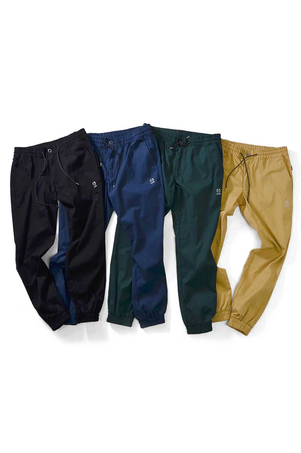 画像1: 【LAFAYETTE】 COTTON STRETCH JOGGER PANTS (1)