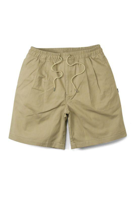 画像1: 【INTERBREED】 Pleated Chino Relax Shorts (1)