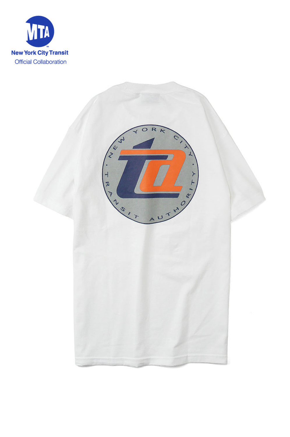 "画像1: 【INTERBREED】 MTA × INTERBREED ""TA Logo Reflection SS Tee "" (1)"