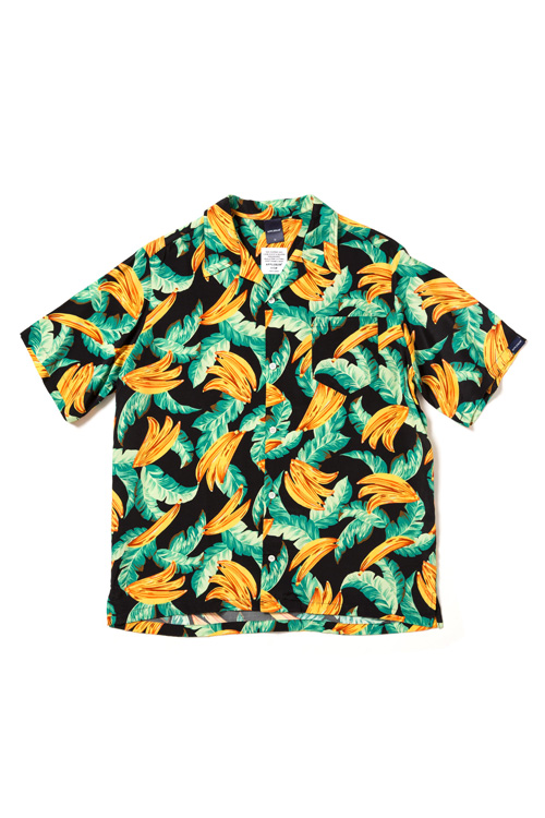 "画像1: 【APPLEBUM】""Banana"" Aloha Shirt (1)"