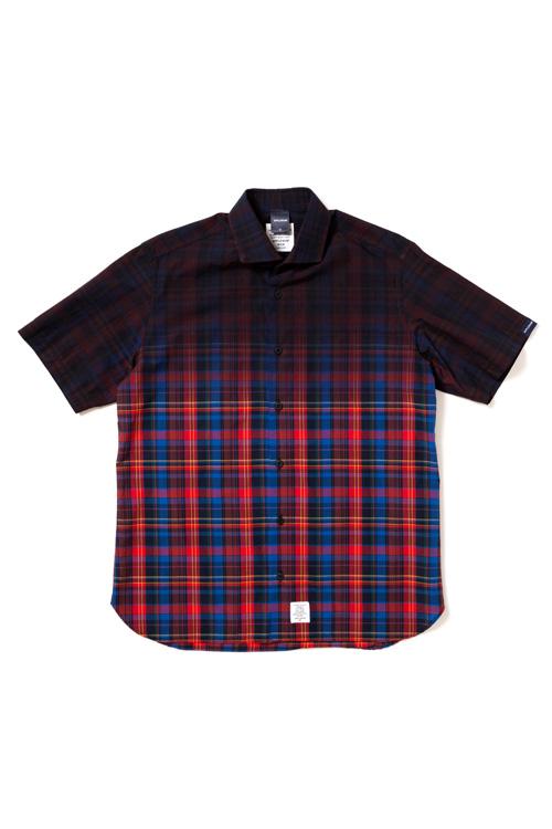 画像1: 【APPLEBUM】Black Dye Madras Check Shirt (1)