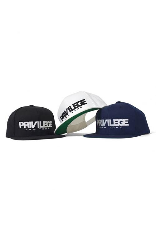 画像1: 【PRIVILEGE】 CORE LOGO NY CAP (1)