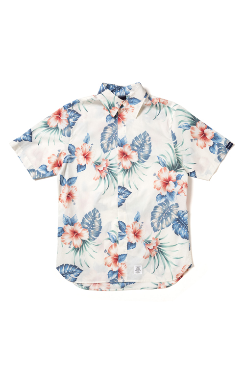画像1: 【APPLEBUM】Aloha Fly Front SS Shirt (1)