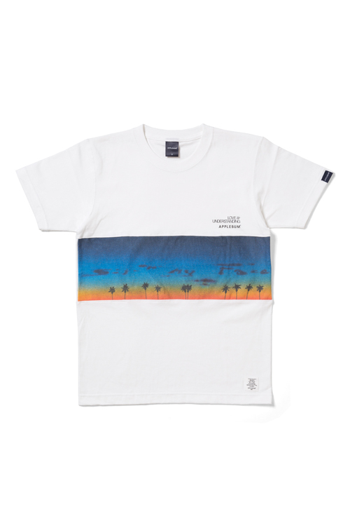 "画像1: 【APPLEBUM】""Sunset"" Mix T-shirt (1)"