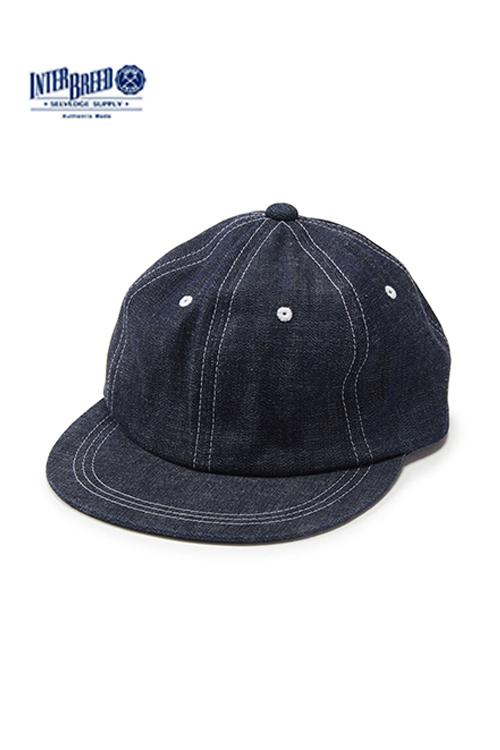 """画像1: 【INTERBREED】 Selvedge Supply """"Workers Ball Cap"""" (1)"""