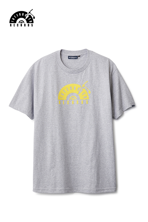 画像1: 【INTERBREED】 IB Records Flock Logo SS Tee (1)