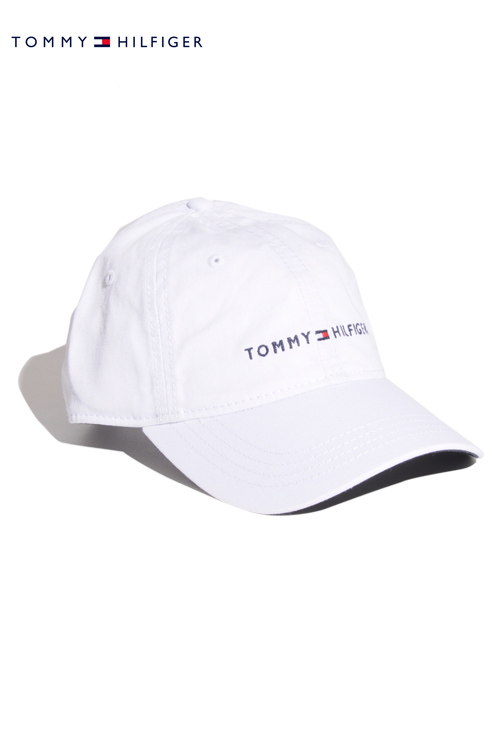 画像1: 【Tommy Hilfiger】 Tommy Hilfiger LOGO CAP (1)