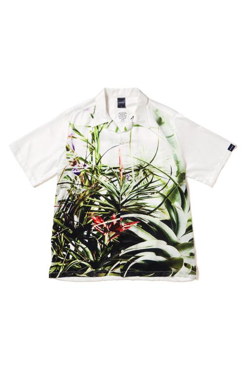 """画像1: 【APPLEBUM】""""Flower White"""" Aloha Shirt (1)"""