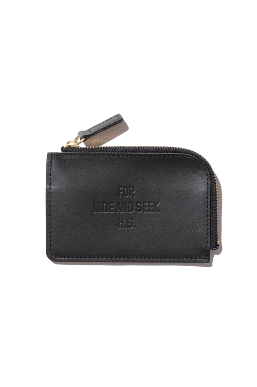 画像1: 【HIDEANDSEEK】FOR HS Leather Coin Wallet (1)