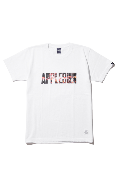 "画像1: 【APPLEBUM】APPLEBUM×LIVING for nexx ""DANKO LOGO"" T-Shirt (1)"