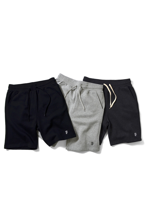 画像1: 【PRIVILEGE】 P LOGO SWEAT SHORTS (1)