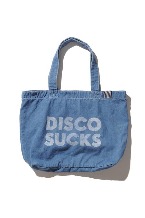 画像1: 【ZUNOW】Denim big tote bag (1)