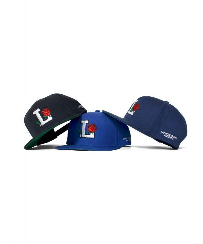 画像1: 【LAFAYETTE】 ROSE LOGO SNAPBACK CAP (1)