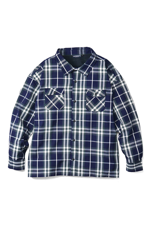 画像1: 【INTERBREED】 Wide Range Plaid Shirt (1)