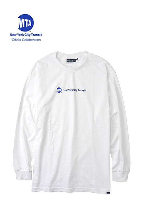 """画像1: 【INTERBREED】 MTA × INTERBREED """"Uniform Logo LS Tee"""" (1)"""