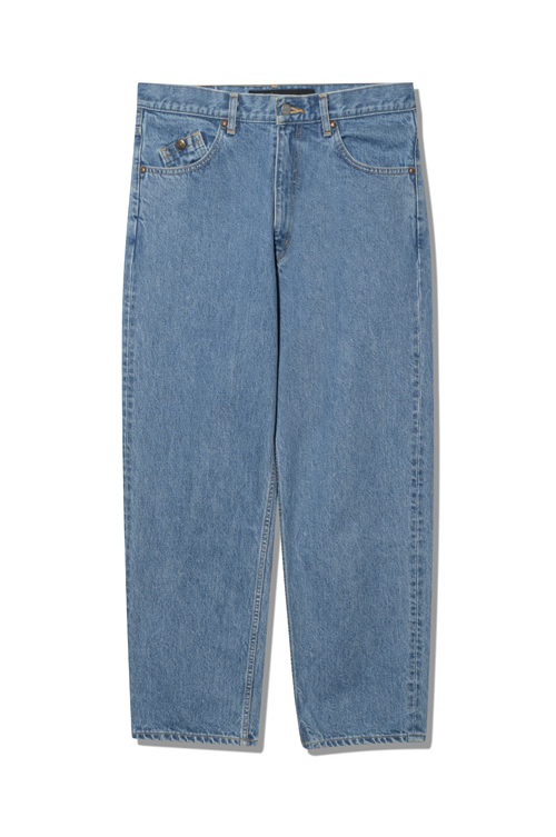 画像1: 【Back Channel】USED BAGGY DENIM (1)