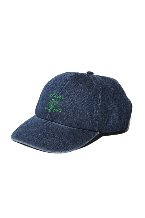 画像1: 【CUTRATE】DENIM CAP (1)