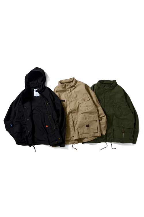 画像1: 【LAFAYETTE】 STAND COLLAR JUNGLE JACKET (1)
