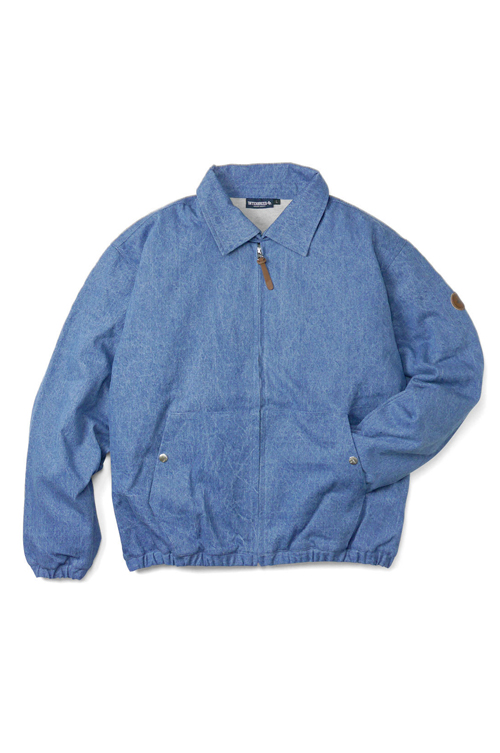 画像1: 【INTERBREED】 Washed Denim Classic Swing Top (1)