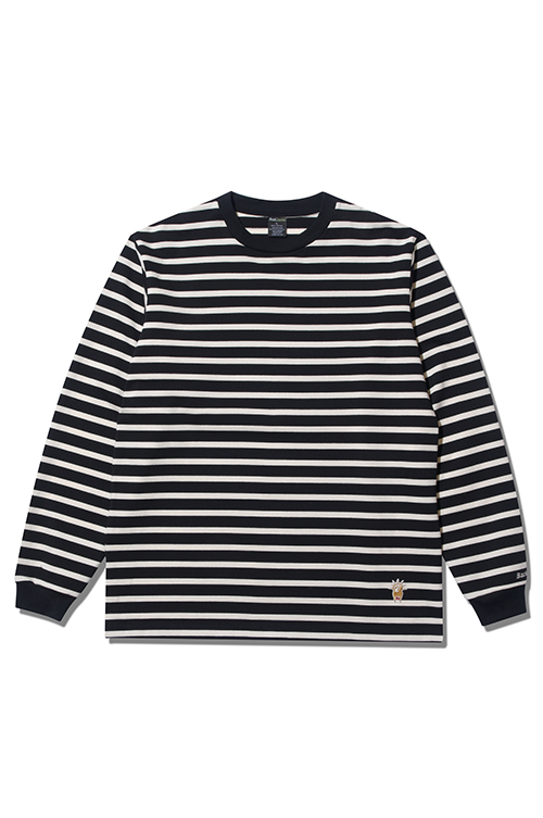 画像1: 【Back Channel】BORDER L/S T (1)