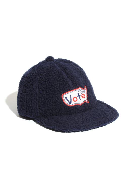 画像1: 【VOTE MAKE NEW CLOTHES】 VOTE USA BOA CAP (1)