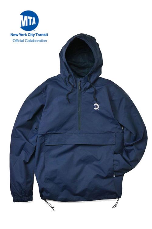 """画像1: 【INTERBREED】 MTA × INTERBREED """"Uniform Logo Anorak"""" (1)"""