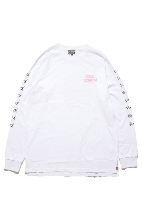 画像1: 【ACAPULCO GOLD】 HARD TO EARN L/S TEE (1)