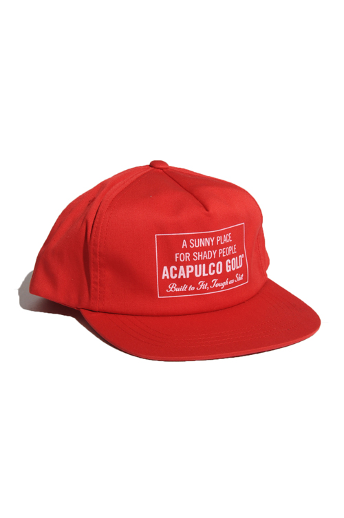 画像1: 【ACAPULCO GOLD】 NEW STANDARD LOGO 5 PANEL CAP (1)