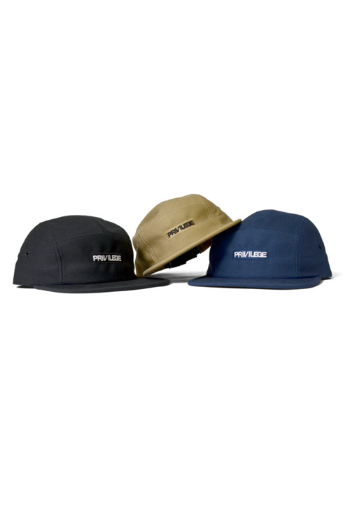 画像1: 【PRIVILEGE】 BOX CORE LOGO 5PANEL CAP (1)