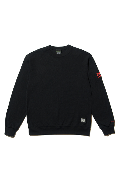 画像1: 【Back Channel】THERMAL CREW SWEAT (1)