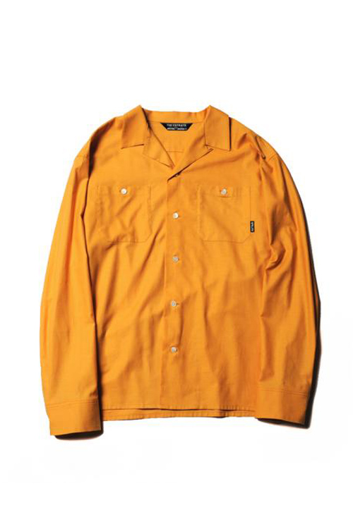 画像1: 【CUTRATE】PLANE OPEN COLLAR L/S SHIRT (1)