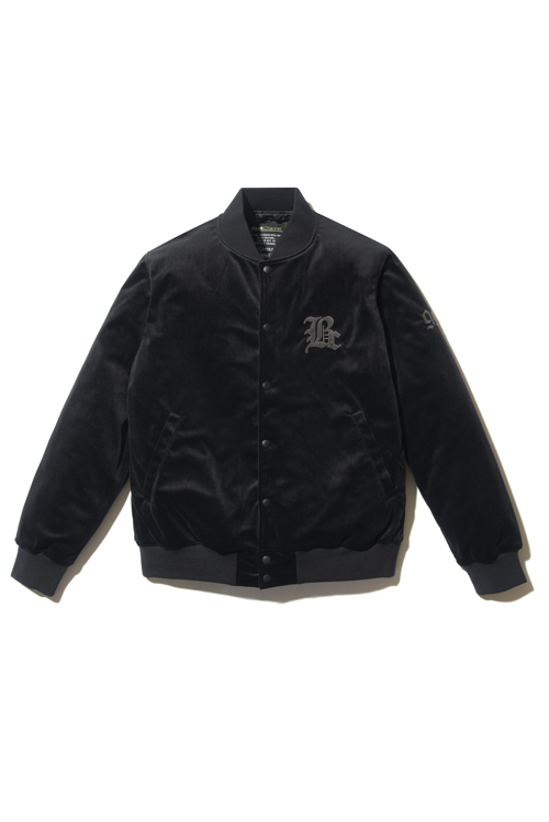 画像1: 【Back Channel】VELOUR STADIUM JACKET (1)