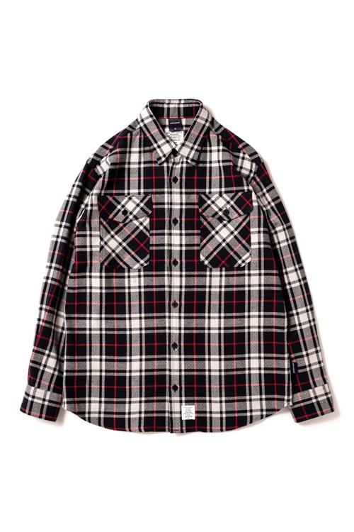 画像1: 【APPLEBUM】British Check Nel Shirt (1)
